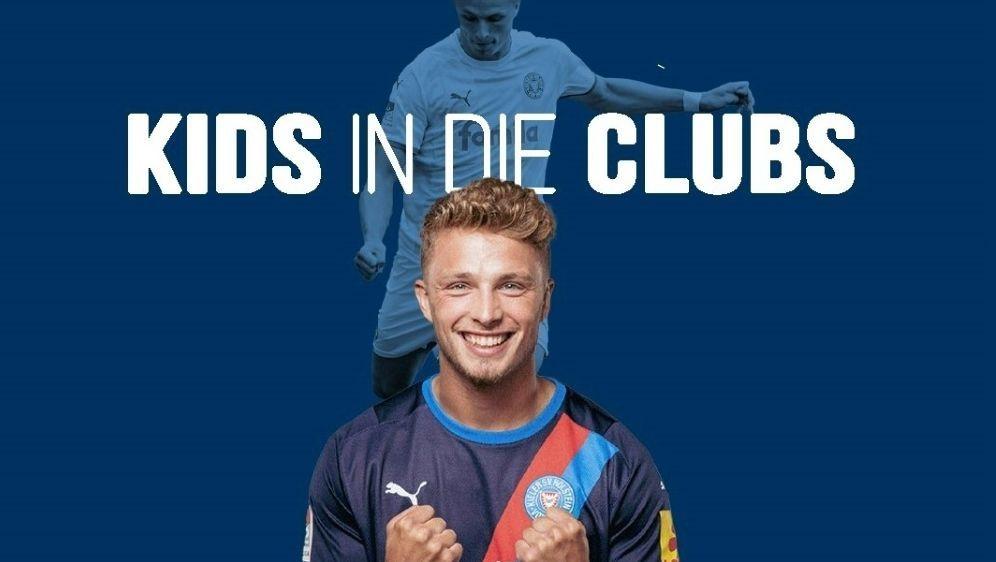 Fiete Arp engagiert sich für finanzschwache Kinder - Bildquelle: Holstein Kielwe play forwardHolstein Kielwe play forwardSID
