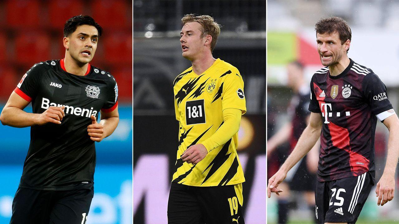 Amiri, Brandt, Müller und Co.: Die 14 größten Marktwertverlierer der Bundesliga - Bildquelle: Imago