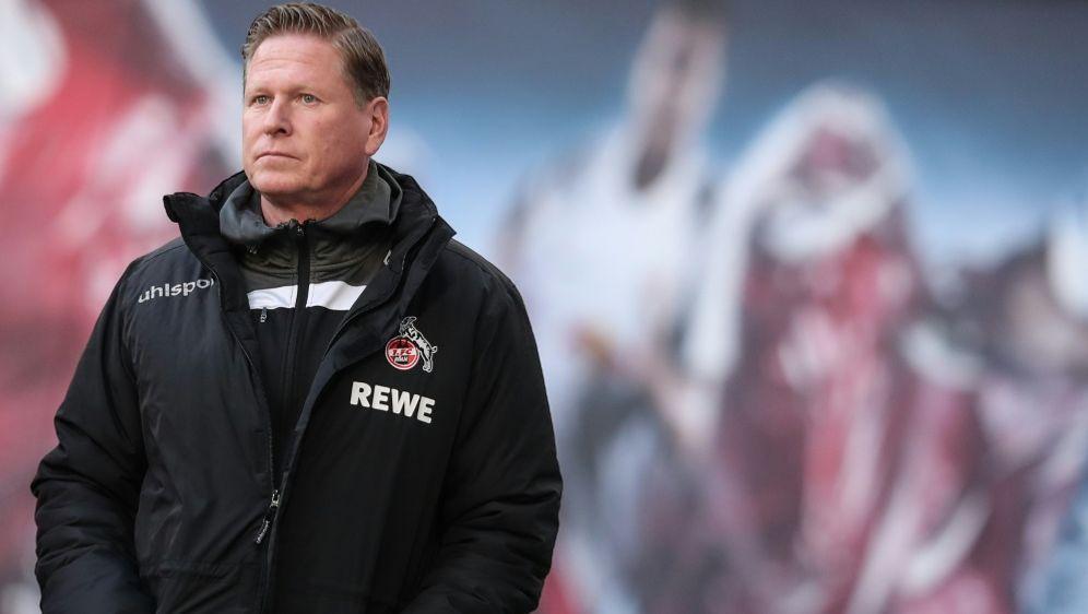 Kölns in Kritik geratener Trainer Markus Gisdol - Bildquelle: POOLAFPSIDRONNY HARTMANN