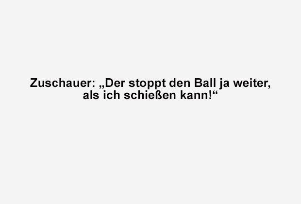 Vorstopper mal anders - Bildquelle: ran.de