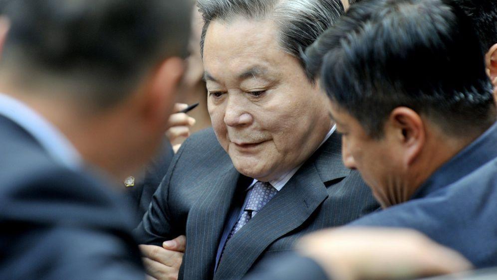 Lee Kun-Hee starb im Alter von 78 Jahren - Bildquelle: AFPSIDJUNG YEON-JE
