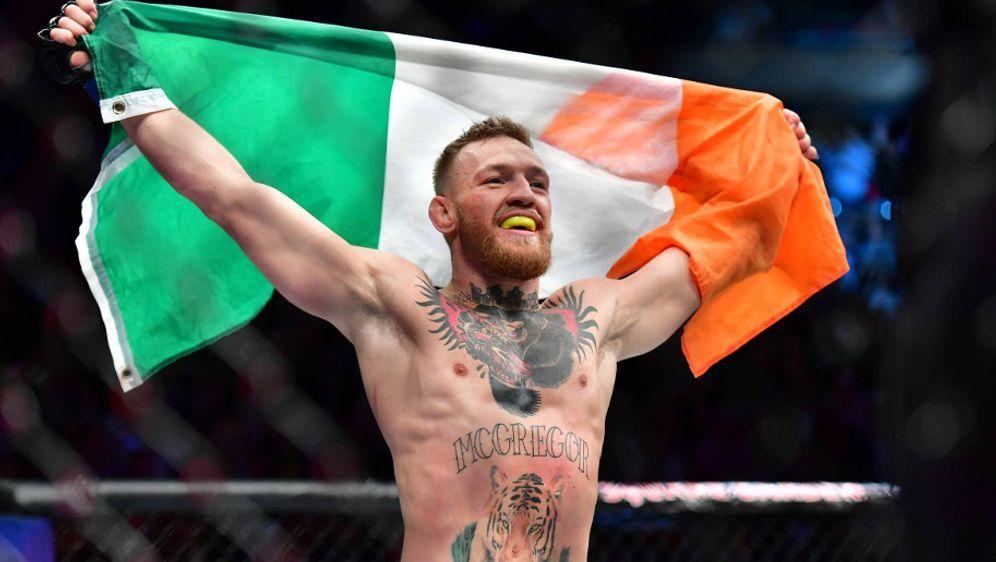 Conor McGregor wartet auf den richtigen Zeitpunkt für sein Comeback - Bildquelle: imago sportfoto