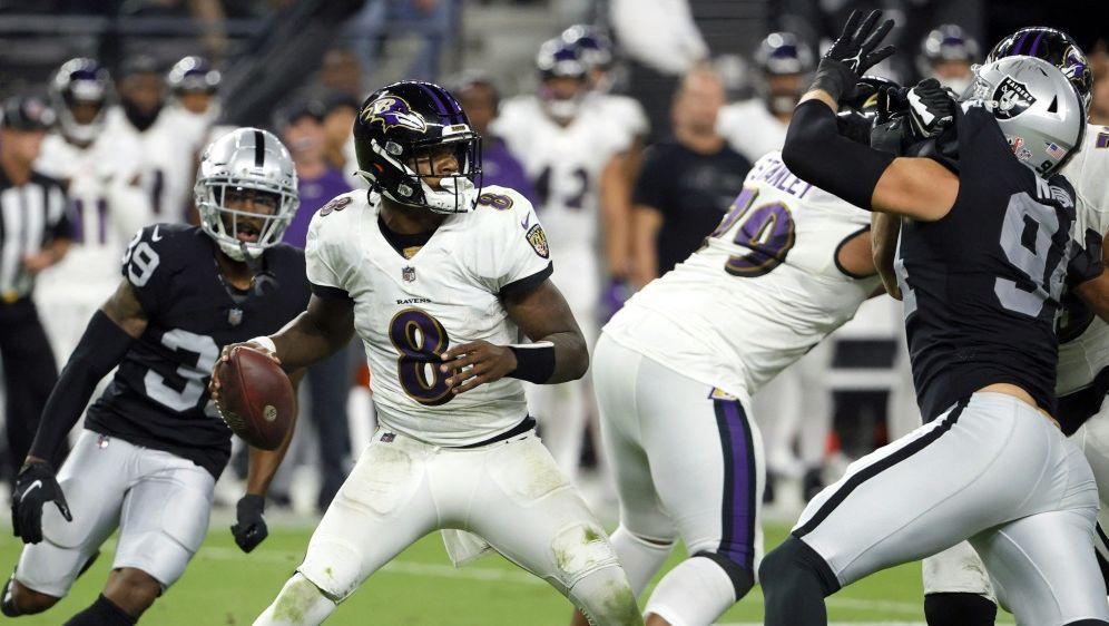 Die Baltimore Ravens verlieren nach Verlängerung - Bildquelle: AFPGETTY IMAGES NORTH AMERICASIDETHAN MILLER