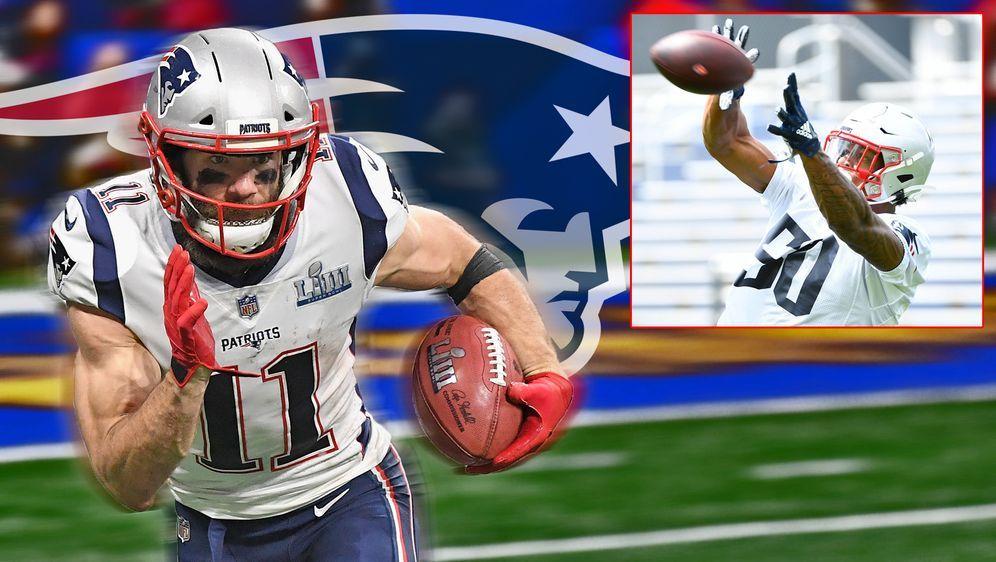 Edelman wird Harrys Mentor bei den Patriots. - Bildquelle: 2019 Getty Images