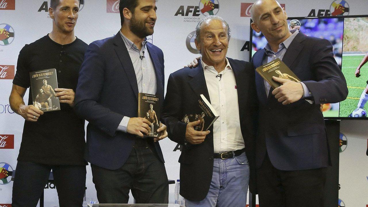 Platz 5 - Jose Otin (2.v.r.) - Bildquelle: imago/Agencia EFE