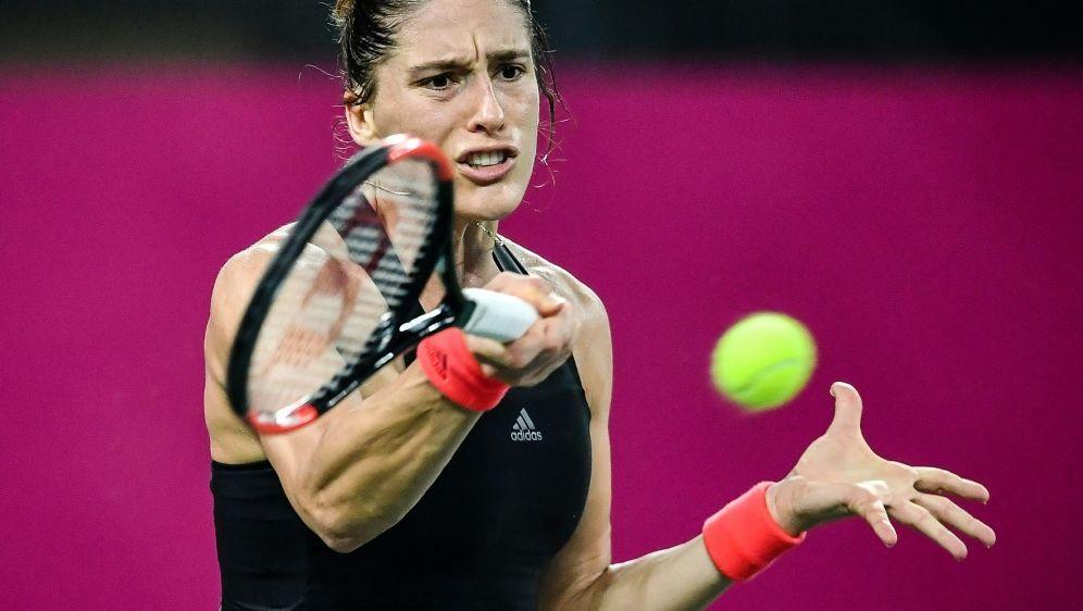 Andrea Petkovic gewinnt deutsches Duell gegen Görges - Bildquelle: AFPSIDSTR