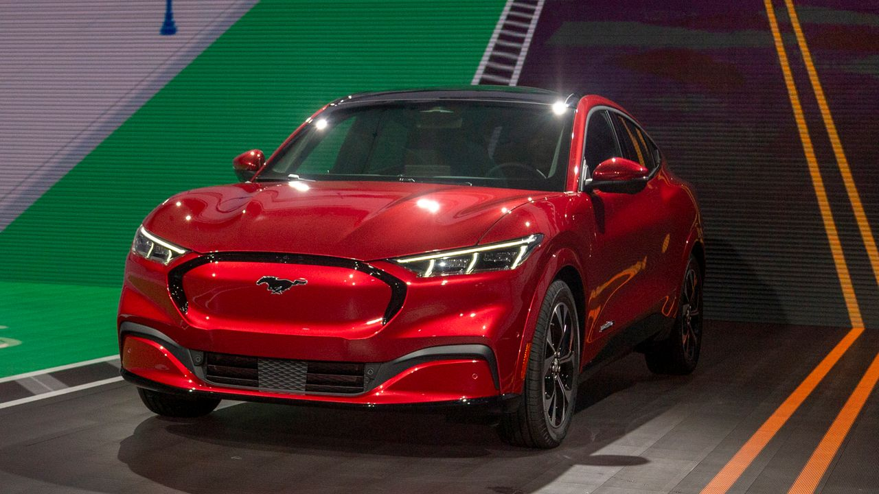 Ford Mustang Mach E (First Edition) - Bildquelle: 2019 Getty Images