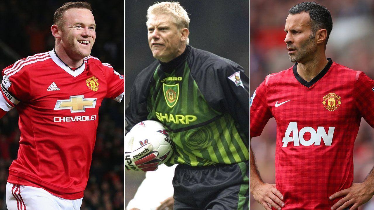 All-Time-Elf von Manchester United - Bildquelle: Getty Images