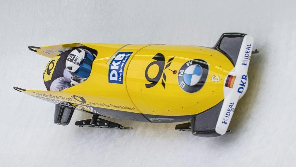 Friedrich und Grothkopp gewannen das Zweierbob-Rennen - Bildquelle: PIXATHLONPIXATHLONSID