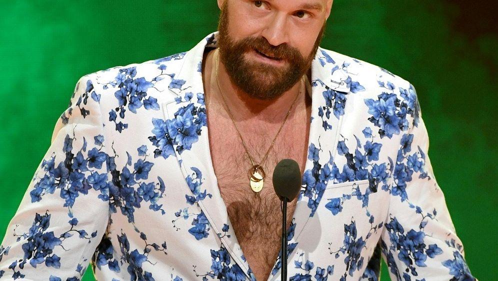 Tyson Fury bringt ein Weihnachtslied raus - Bildquelle: AFPSIDEthan Miller