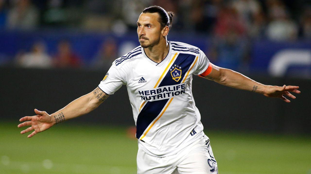 Platz 1: Zlatan Ibrahimovic (LA Galaxy) - Bildquelle: 2019 Getty Images