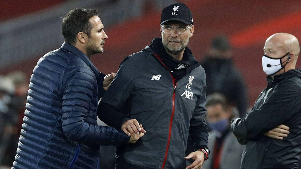 Shakehands zwischen Lampard und Klopp - Bildquelle: imago