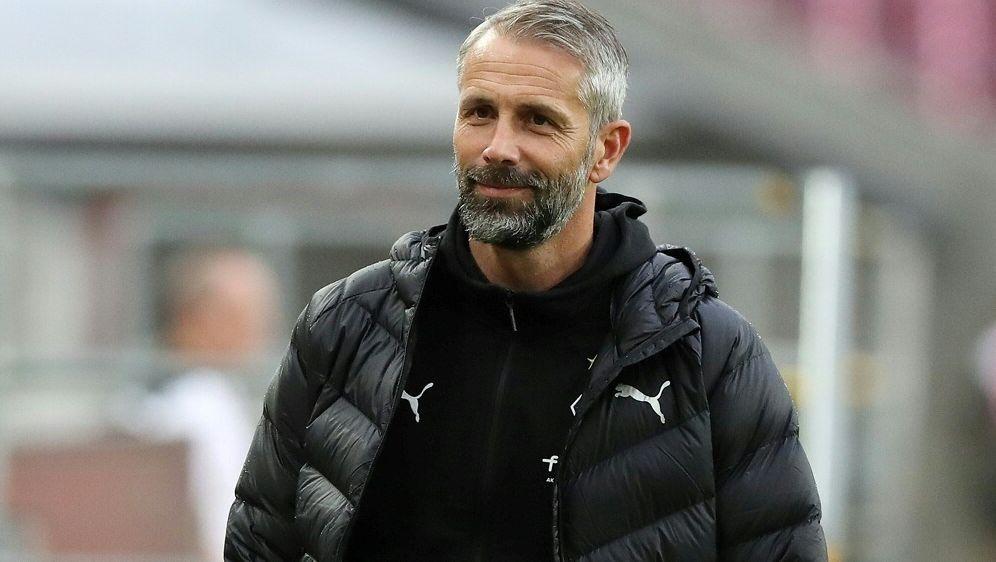 Trainer Marco Rose denkt nicht an die Vergangenheit - Bildquelle: FIROFIROSID