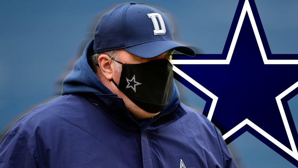 Mike McCarthy sitzt bei den Dallas Cowboys offenbar noch fest im Sattel - Bildquelle: 2020 Getty Images