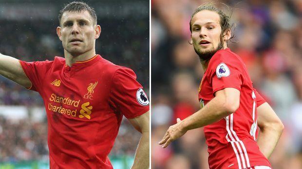 James Milner vs. Daley Blind - Bildquelle: Getty Images