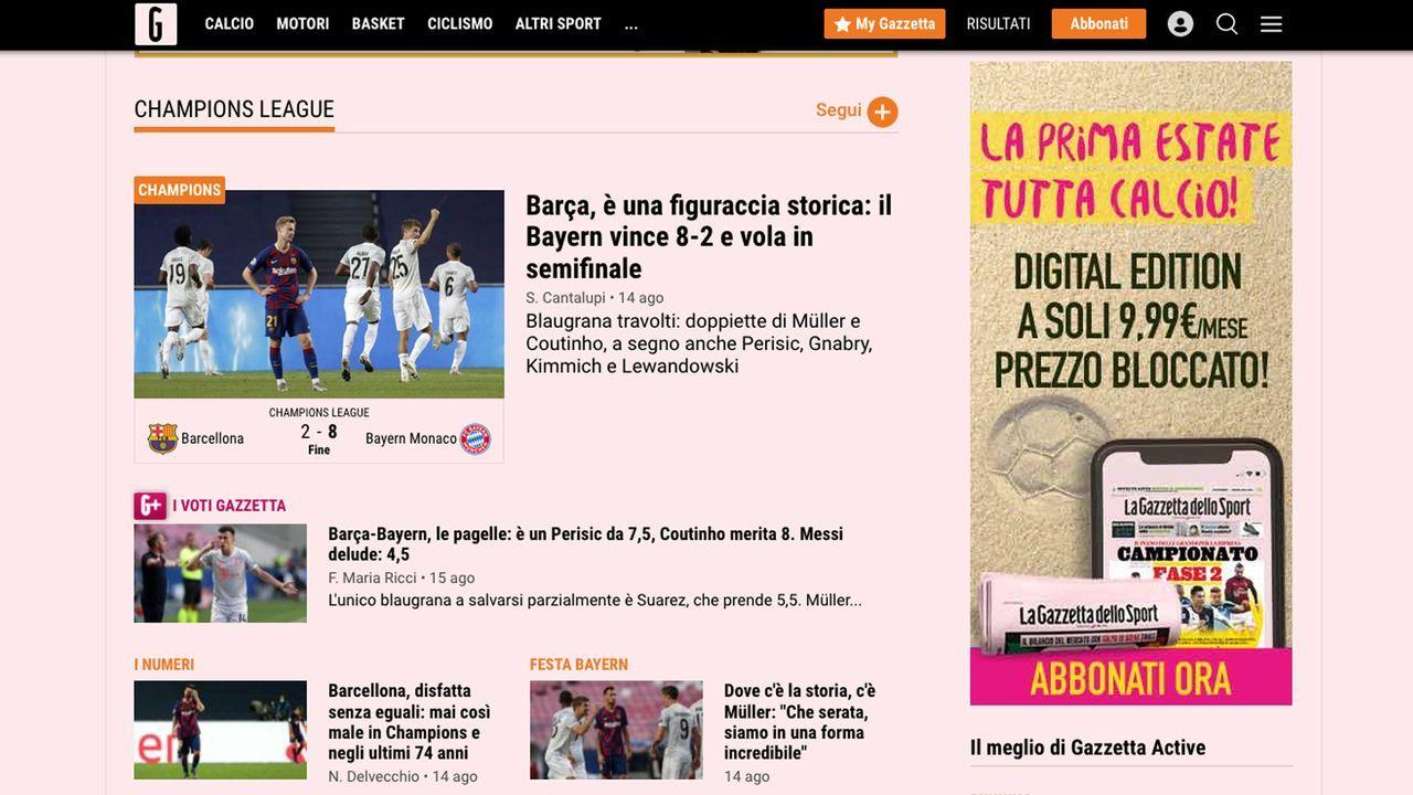 Italien - Bildquelle: gazzetta.it