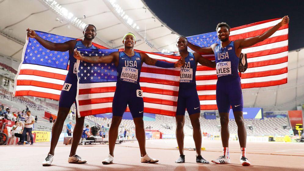 Die US-Staffel der Männer gewinnt Gold - Bildquelle: Getty Images