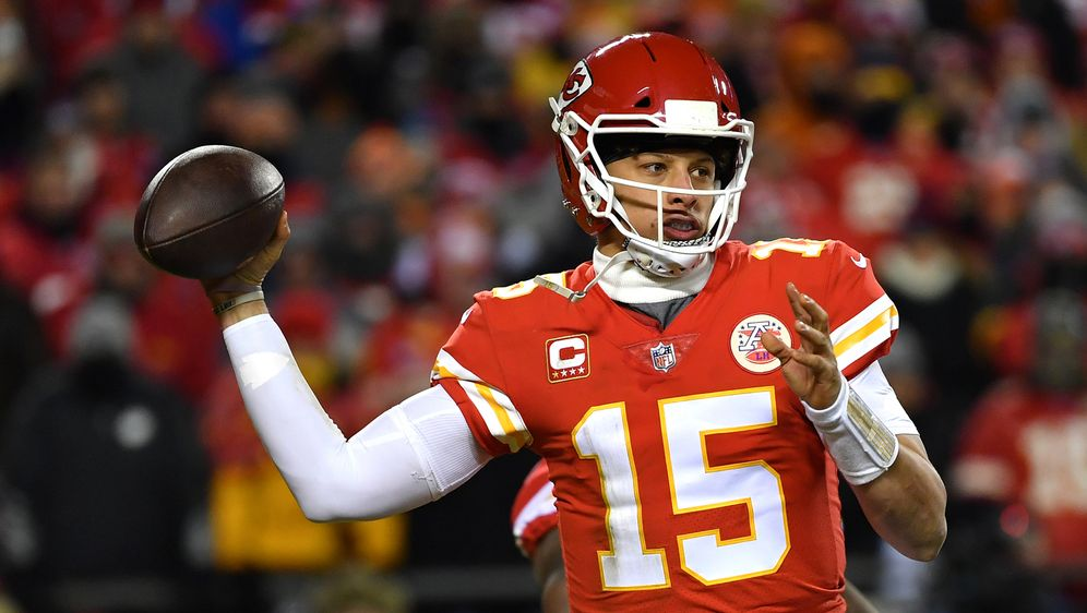 Quarterback der Kansas City Chiefs: Patrick Mahomes. - Bildquelle: Getty Images