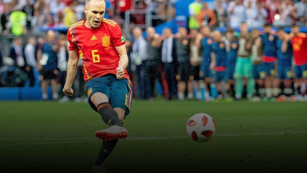Prägte den Tiki-Taka-Fußball über Jahre: Andres Iniesta. - Bildquelle: imago