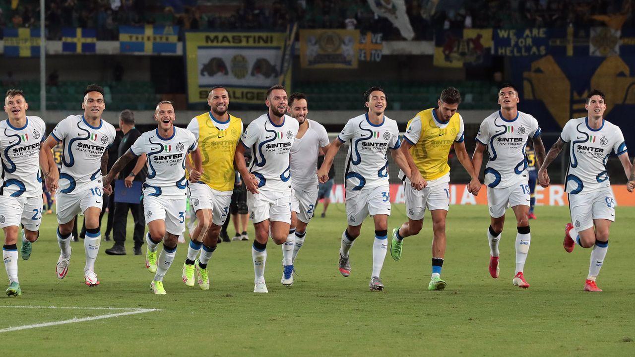 Platz 19 - Inter Mailand (Italien) - Bildquelle: 2021 Getty Images