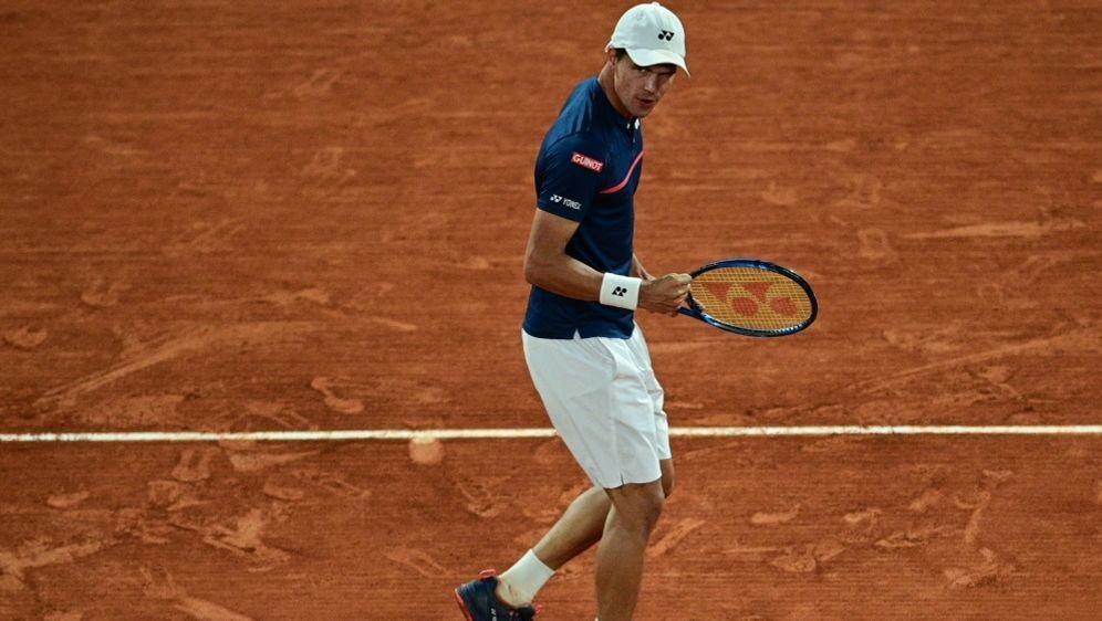 Daniel Altmaier erreicht das ATP-Viertelfinale - Bildquelle: AFPSIDMARTIN BUREAU