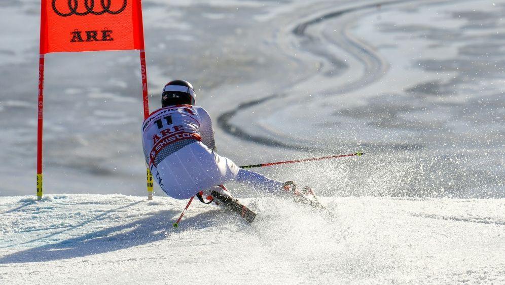 Stefan Luitz stürzte im ersten Durchgang - Bildquelle: AFPSIDJonathan NACKSTRAND