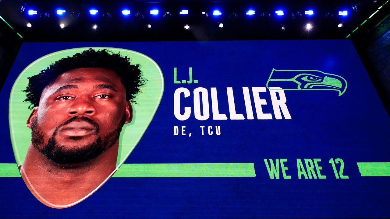29. Pick - Seattle Seahawks: DE L.J. Collier (TCU) - Trade mit Kansas City Chiefs - Bildquelle: 2019 Getty Images