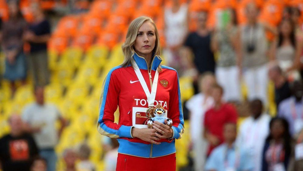 Die russische Leichtathletin Swetlana Schkolina - Bildquelle: AFPSIDFRANCK FIFE