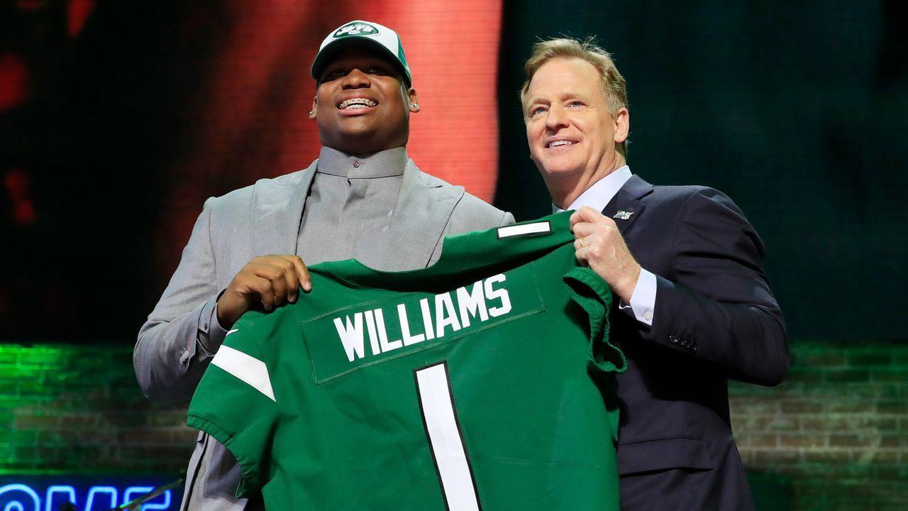Draft Pick 3: New York Jets - Bildquelle: Getty