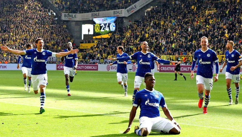 Der FC Schalke 04 hat einen Clip mit den Saisonhighlights veröffentlicht. Bi... - Bildquelle: Getty