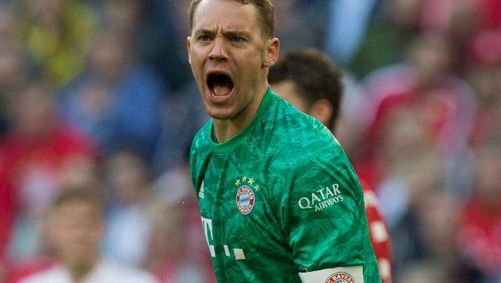 Bayern-Kapitän Neuer findet deutliche Worte - Bildquelle: PIXATHLONPIXATHLONSID