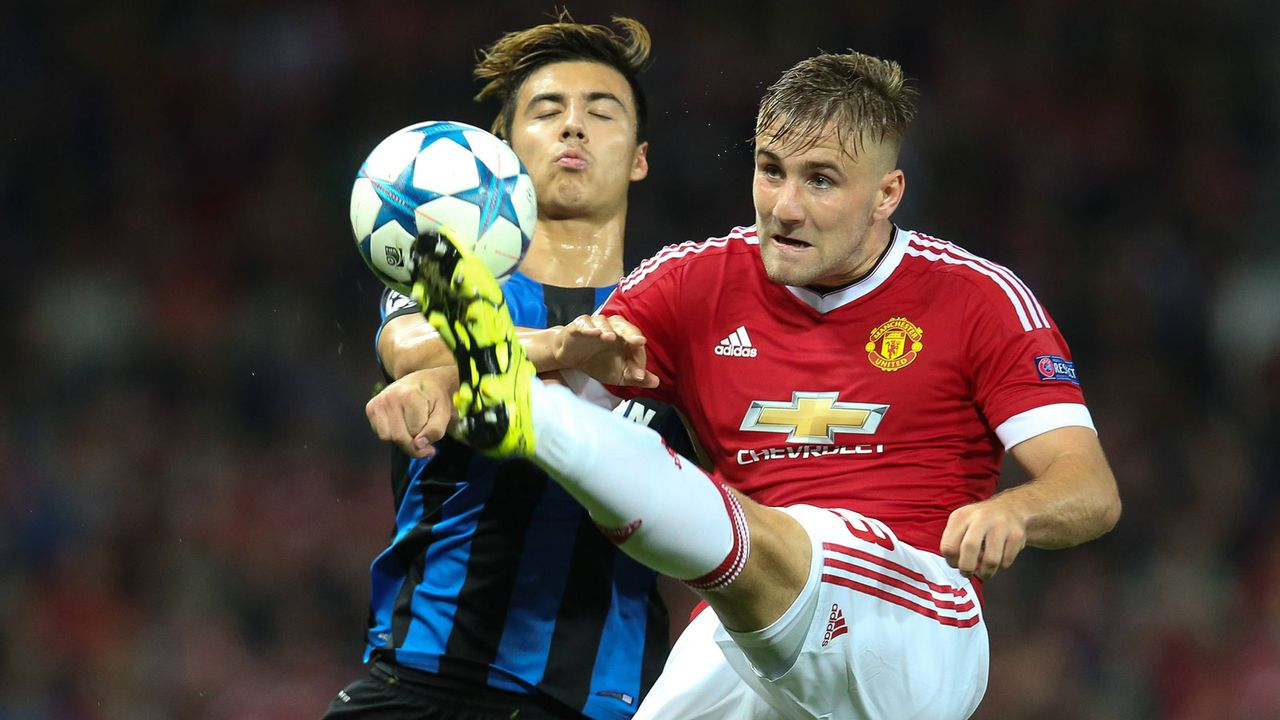 Platz 4: Luke Shaw (18 Jahre/37,5 Millionen Euro) - Bildquelle: imago/Belga