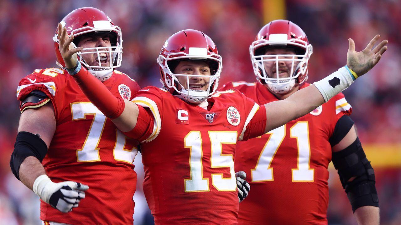 Platz 6: Kansas City Chiefs - Bildquelle: 2017 Getty Images