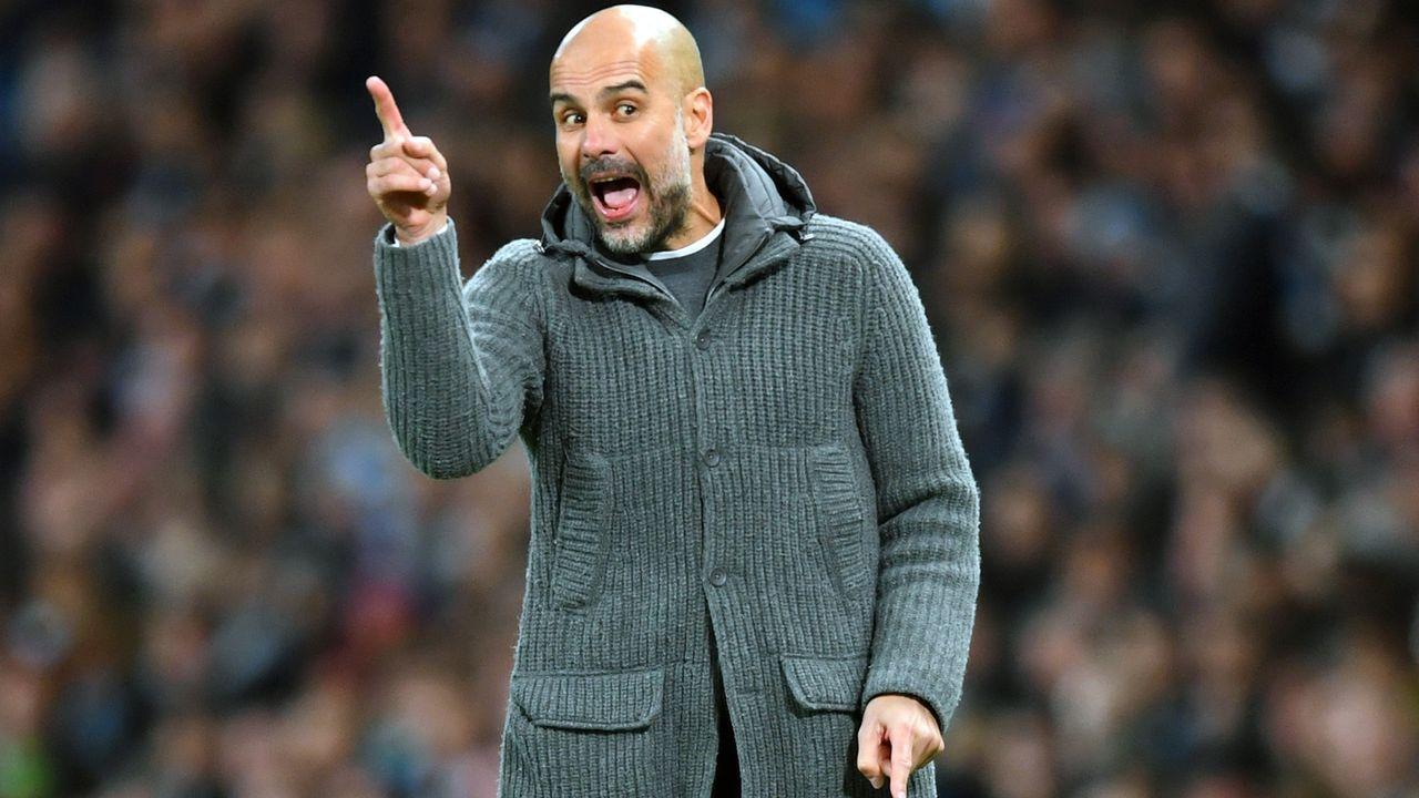 Platz 1 - Pep Guardiola (Manchester City) - Bildquelle: 2019 Getty Images