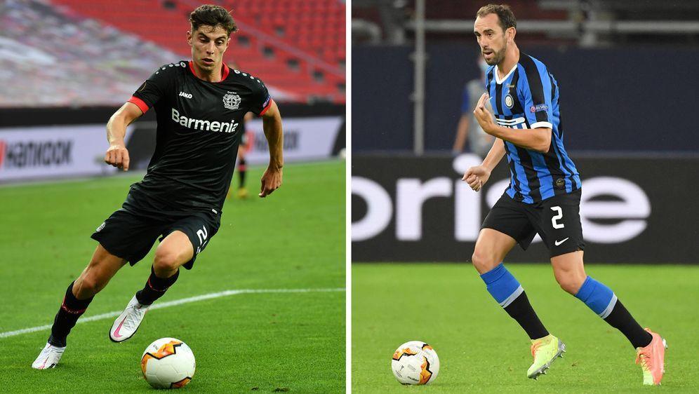 Bayer 04 Leverkusen und Inter Mailand treffen im Viertelfinale der Europa Le...