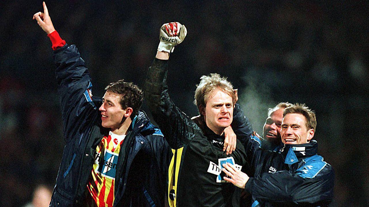Platz 3 (geteilt): Eintracht Trier - MSV Duisburg 10:11 n.E. (22 Elfmeter/ Saison 1997/1998)