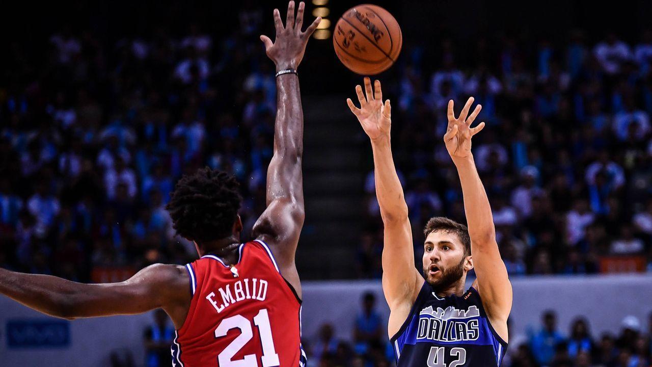 Platz 3: Maxi Kleber (Dallas Mavericks/Basketball) - Bildquelle: imago
