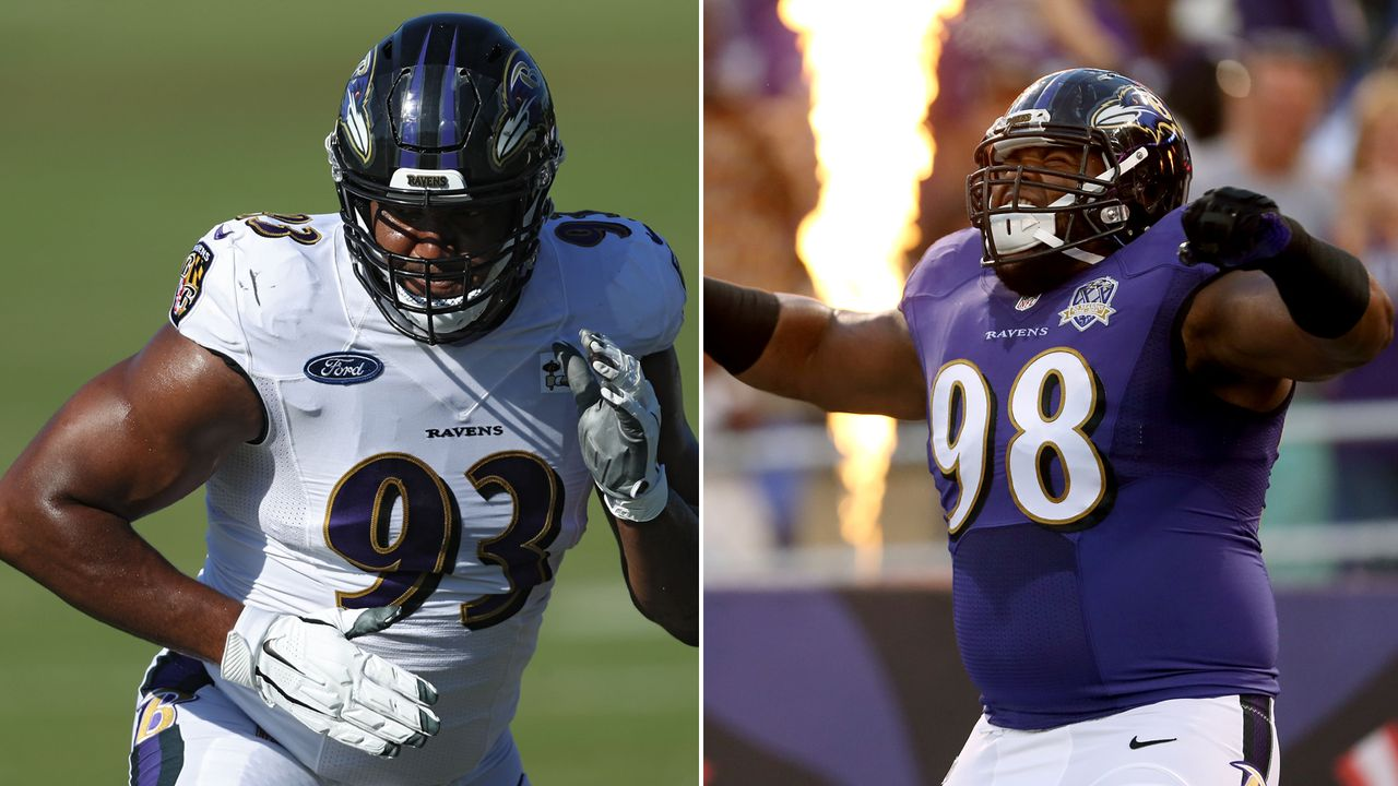 Calais Campbell & Brandon Williams (Baltimore Ravens) - Bildquelle: Getty Images