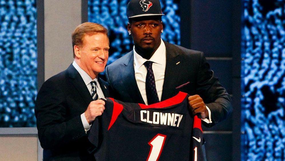 Jadeveon Clowney wurde von den Housten Texans ausgewählt - Bildquelle: SID-SID-AFPGETTY