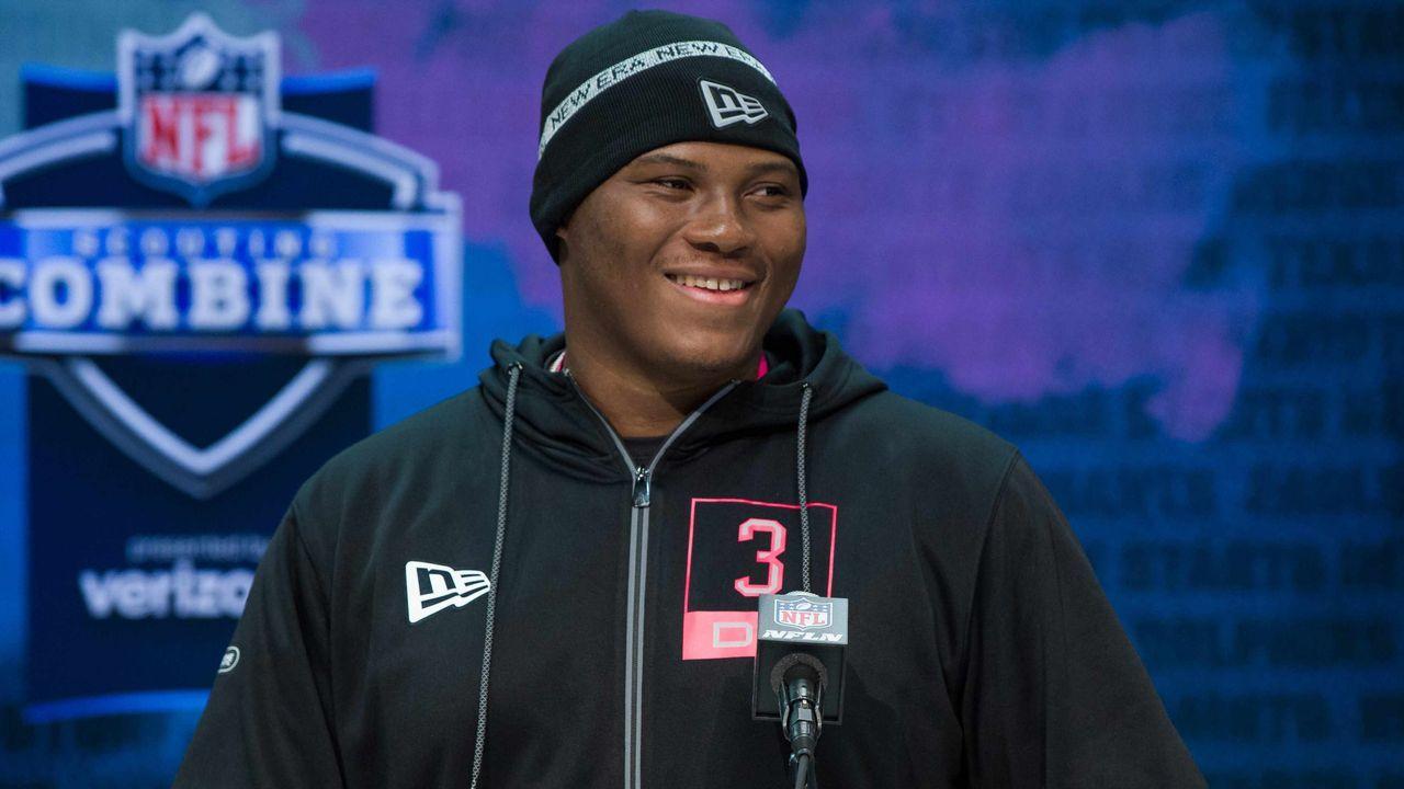 7. Pick - Derrick Brown (Carolina Panthers)  - Bildquelle: imago