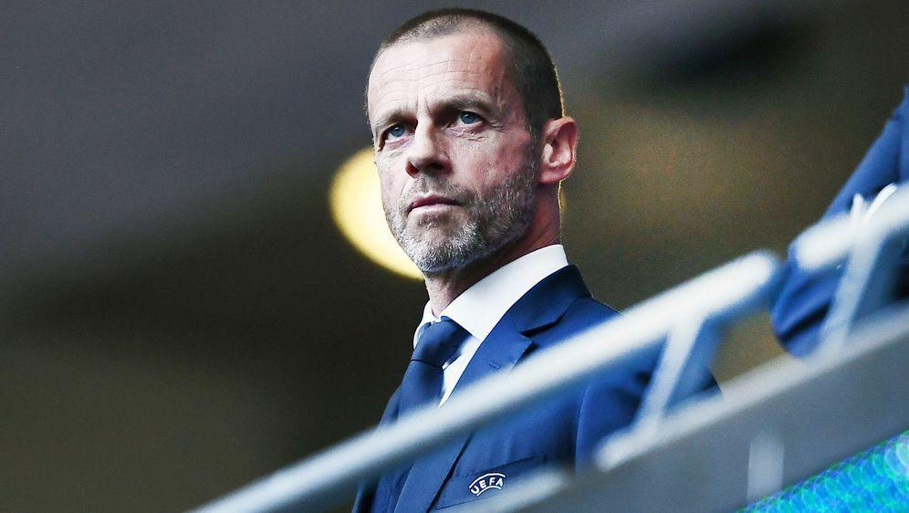 Der Slowene Aleksander Ceferin ist UEFA-Präsident. - Bildquelle: imago images/Gribaudi/ImagePhoto