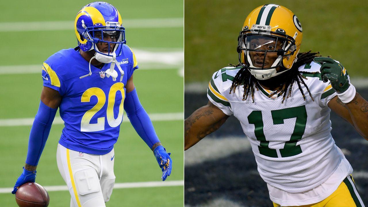 Rams at Packers: Jalen Ramsey vs. Davante Adams - Bildquelle: Getty