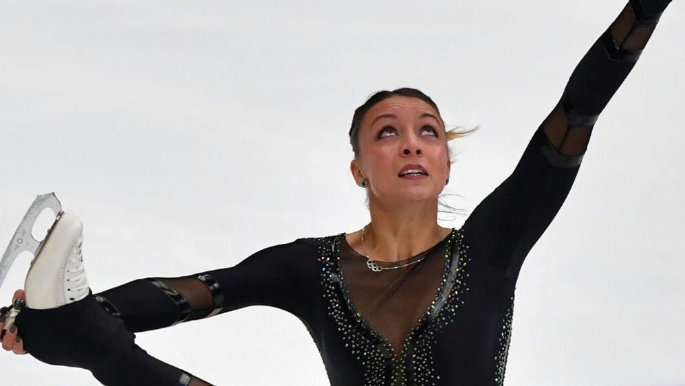Nicole Schott in Moskau auf Platz acht - Bildquelle: AFPAFPYuri KADOBNOV