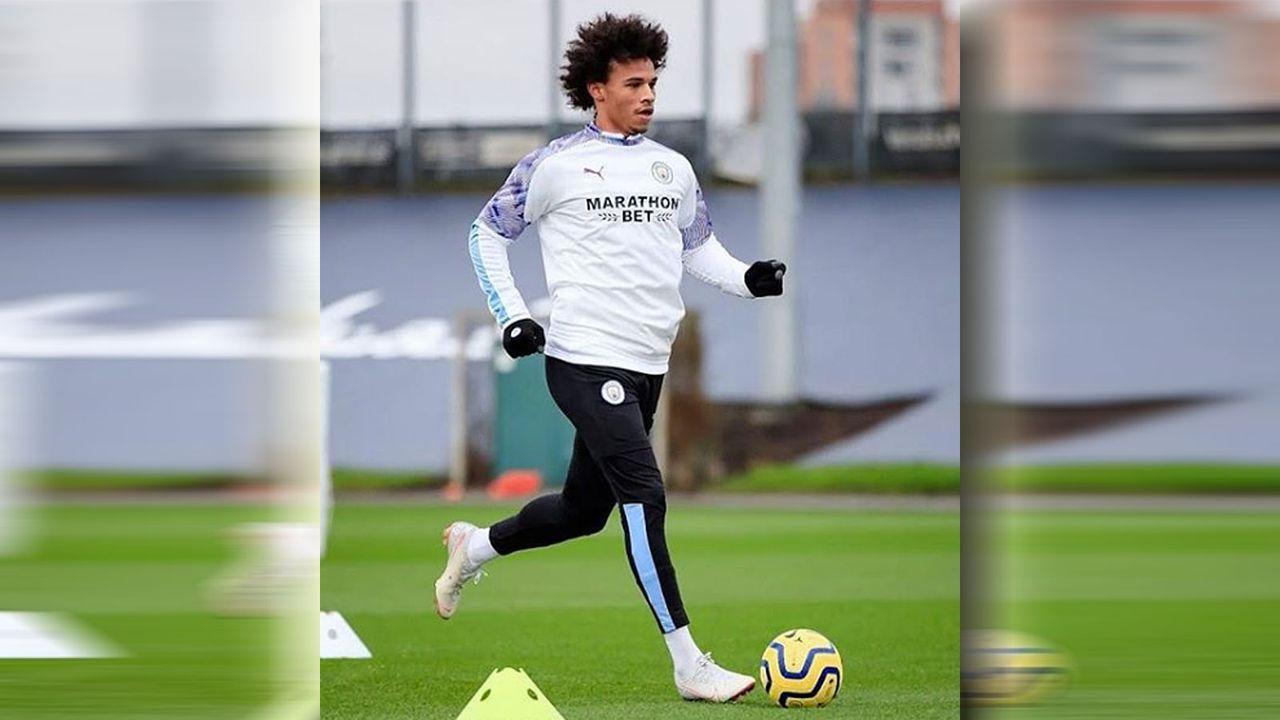Leroy Sane kehrt auf Trainingsplatz zurück - Bildquelle: instagram/@leroysane19