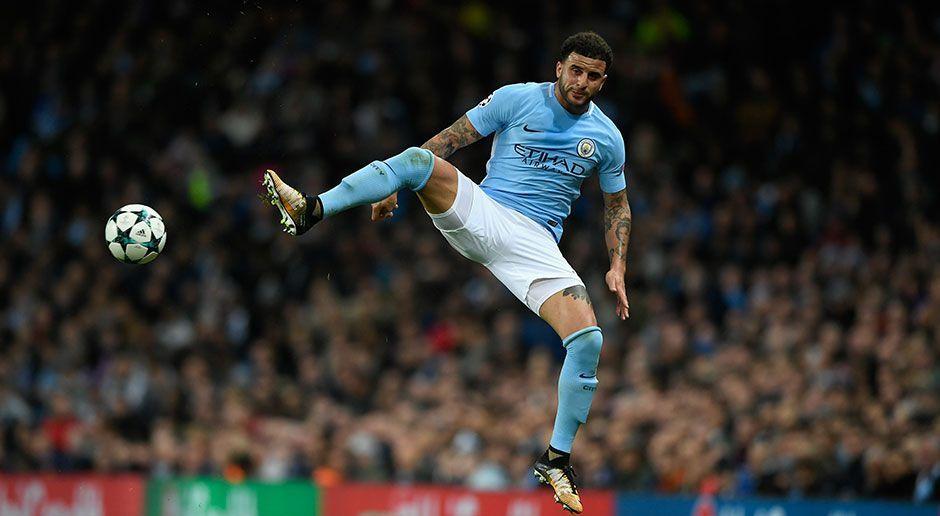 7. Kyle Walker (Manchester City) - Bildquelle: 2017 Getty Images