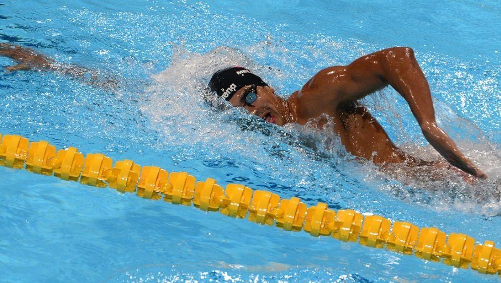 Oussama Mellouli schwimmt in Tokio - Bildquelle: AFPSIDLLUIS GENE