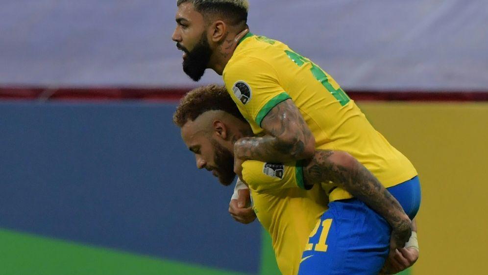 Neymar und Brasilien feiern Auftakterfolg bei der Copa - Bildquelle: AFPAFPNELSON ALMEIDA