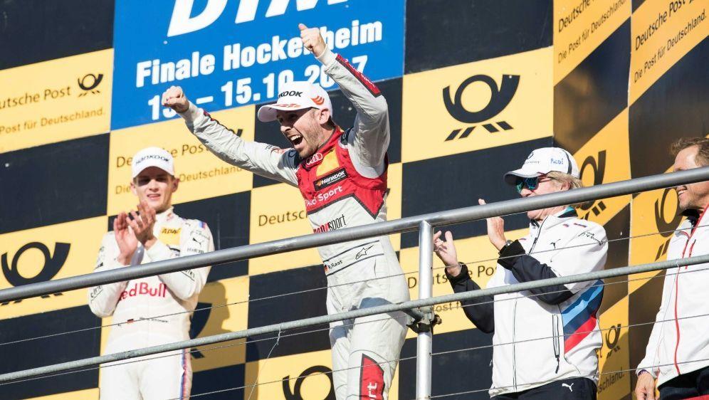 Rast (M.) holte in seiner Rookie-Saison den DTM-Titel - Bildquelle: PIXATHLONPIXATHLONSIDHZ