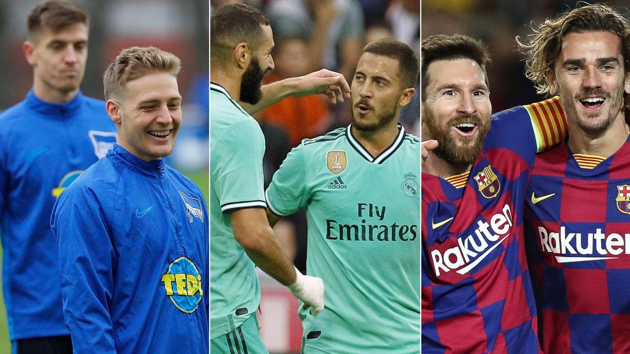 CIES-Studie: Die Top 10 der Klubs mit dem höchsten Transfer-Minus - Bildquelle: Imago/Getty Images
