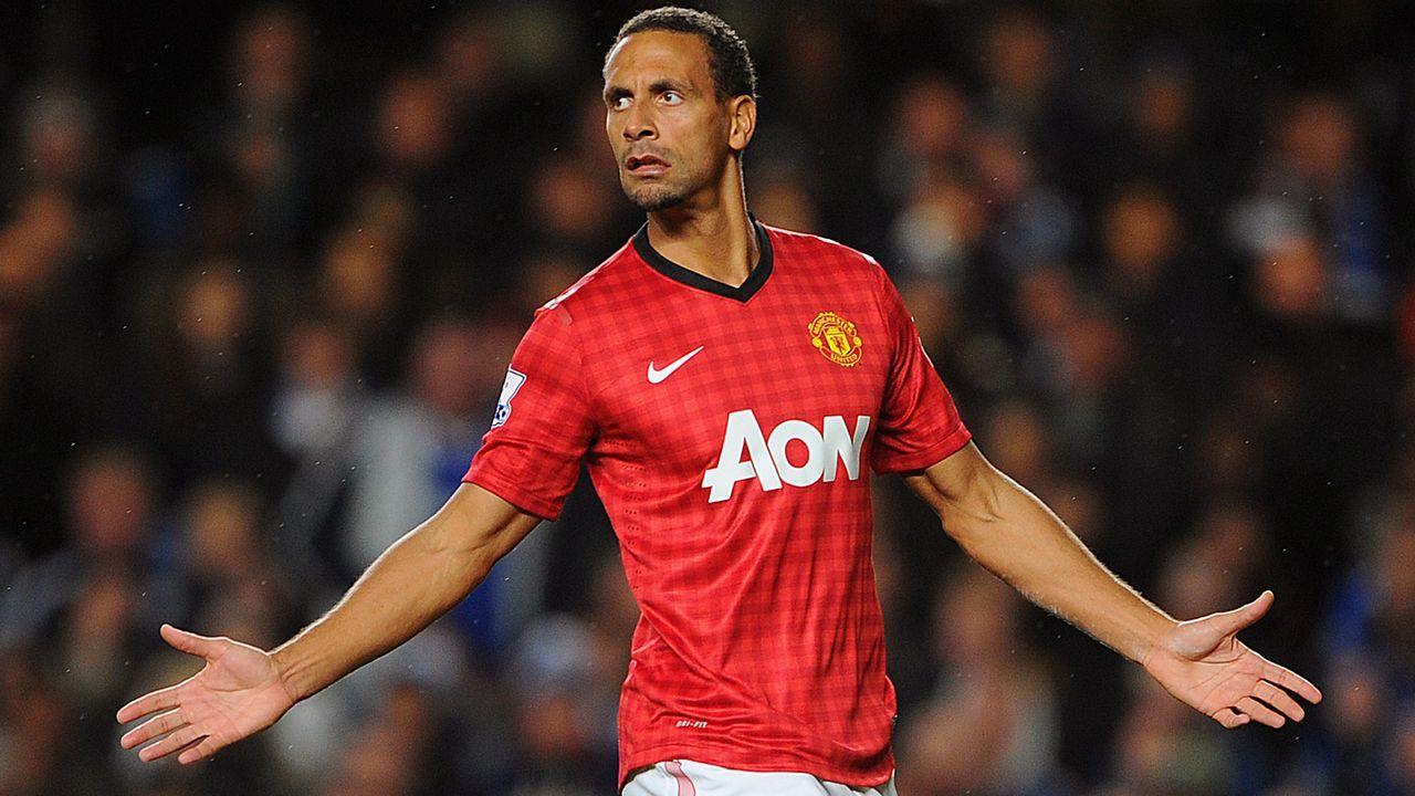 Abwehr: Rio Ferdinand - Bildquelle: 2012 Getty Images